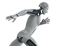 Humanoid 3D Model