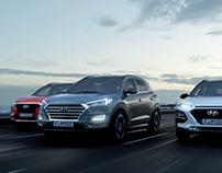 Hyundai 3 Car Range