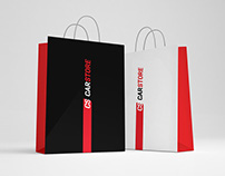 CarStore фирменный стиль и логотип