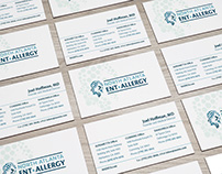 Medical Practice Branding - Business Card Options