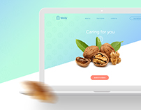 Wally - landing page