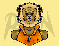 RAWN LION - ILUSTRATION @SONGARTWORK
