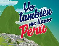 Ilustracion Machu Picchu - Perú
