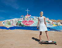 Salvation Mountain with LG & Action cam