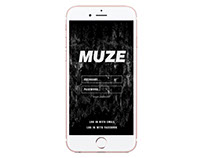 MUZE Augmented Reality App