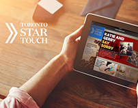 Product design-App Design for Toronto Star