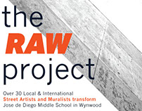 Brochure Design // The Raw Project