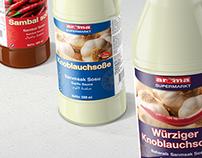 Aroma Supermarkt Labeling