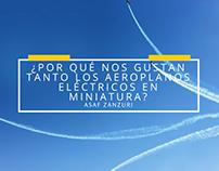 ¿Por qué nos gustan tanto los aeroplanos eléctricos en
