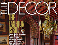 Elle Decor: Publication Redesign