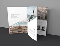 Freebie - Three Page Brochure Mockup