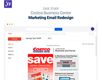 Costco Business Center Email Redesign