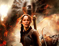 Poster especial para MOCKINGJAY - PART 1