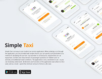 Simple Taxi - app design