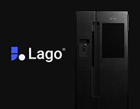Lago - Connected Refrigerator | Industrial Design - UX