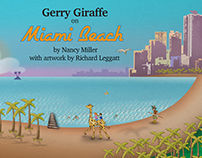 Gerry Giraffe on Miami Beach
