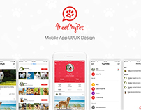 Meet My Pet - Mobile App UI/UX