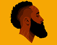 James Harden Minimal Profile