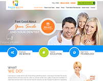 Dental Clinic Website templates create by Nexstair