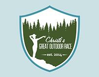 Christi's Great Outdoor Race - Logo Design