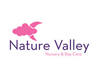 Nature Valley Nursery & Day Care Logo Design