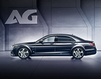 Mercedes-Benz S600 [Armour Group Project]