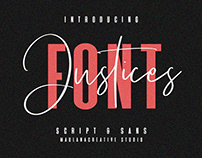 Justices Font