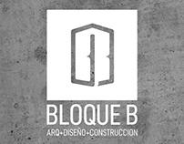 BLOQUE B | Arquitectura + Diseño + Construcción