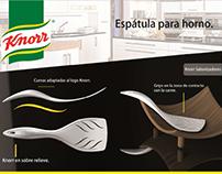 Espétula Knorr. Unilever.