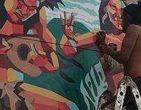 Rapa Nui mural