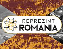 Branding proposal for Reprezint Romania
