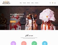 Boombalambuz | Restaurant Website Redesign Concept
