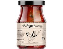 The Hot Saucery Branding