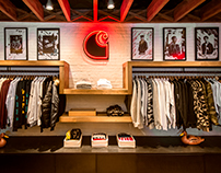 INTERIOR PHOTOGRAPHY FOR CARHARTT WIP HK STORE