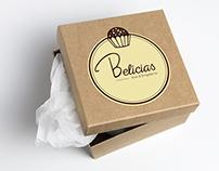 Belícias Arte & Brigadeiros   Logo