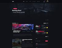 Gaminghard.cz Webdesign