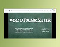 Infográfico: #OcupaNexjor