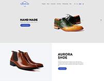 Material Design E commerce website