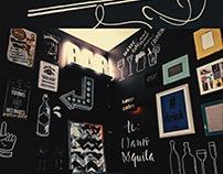 Chalklettering Bar.