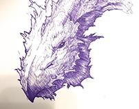 Quick Dragon Doodle