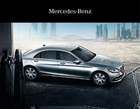 Mercedes-Benz S-Guard - Kommunikationsdesign
