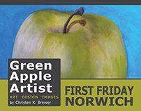 Green Apple Artist Branding