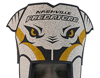 Nashville Predator Foam Novelty Hat