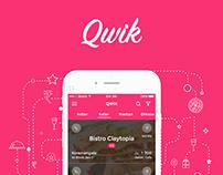 Qwik - An iOS experience