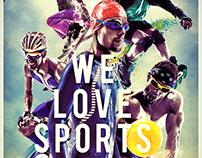 """We Love Sports"" per Vision Service Sports Eyewear"