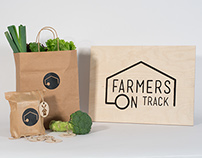 Farmers On Track Mobile Market Branding