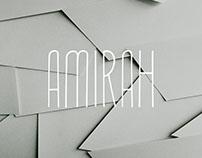 Free Amirah Display Font