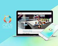 Otus Consulting Website Design