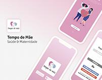 Tempo de Mãe | App UI & UX