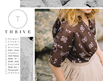 Styling: THRIVE - zero waste